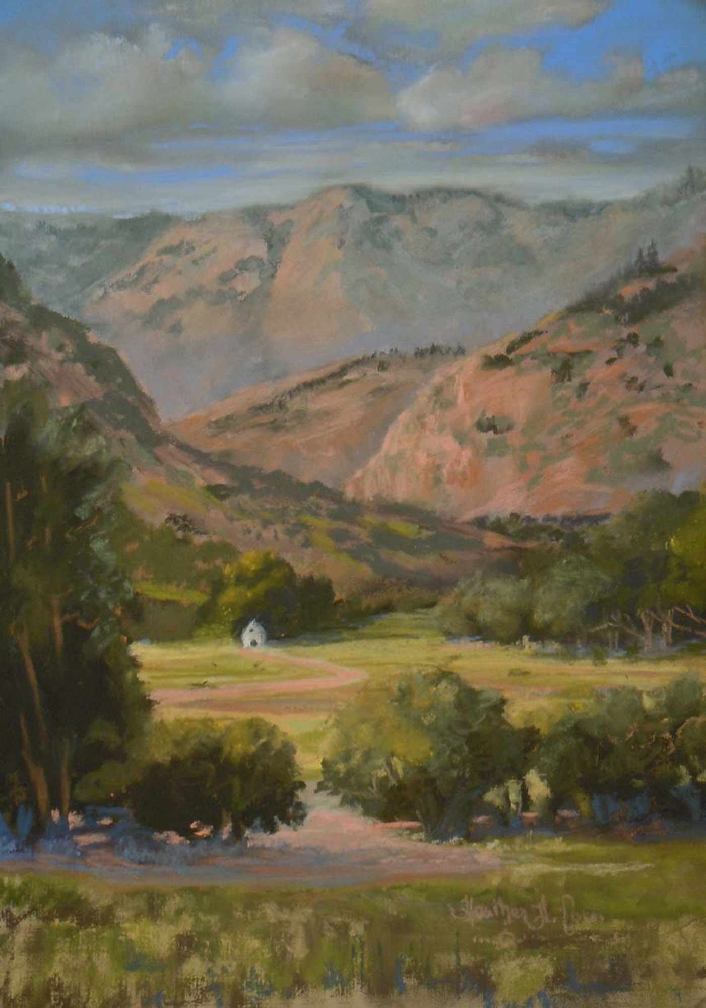 deer creek canyon painting