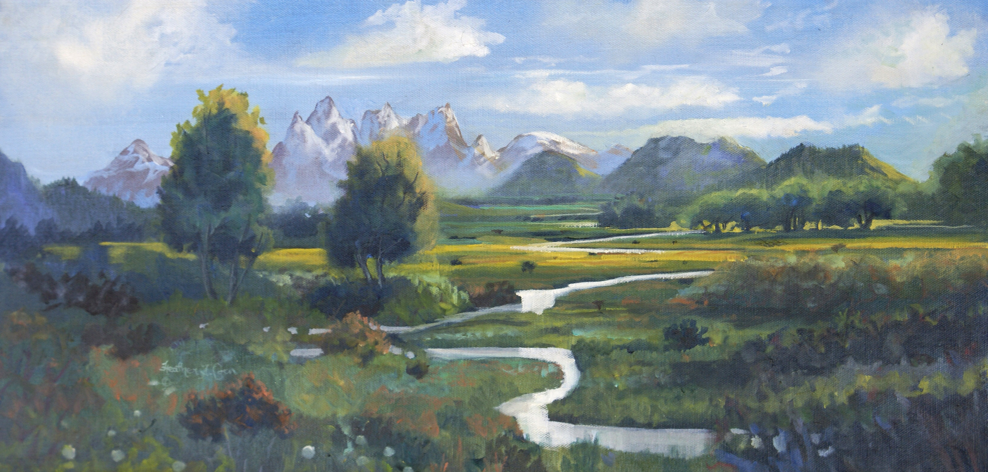 Jackson Creek, Oil12 by 24