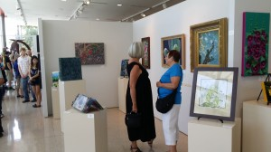 Reception at Vision Gallery
